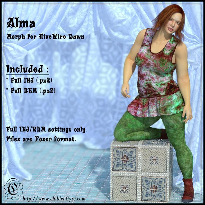 Alma for Dawn Poser Version