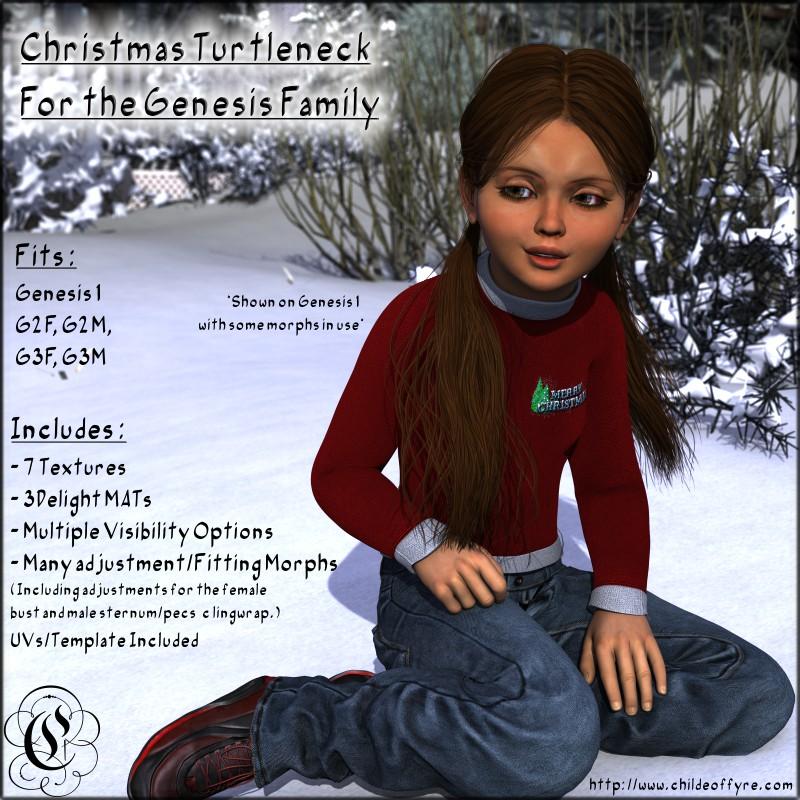 Genesis Family Christmas Sweater