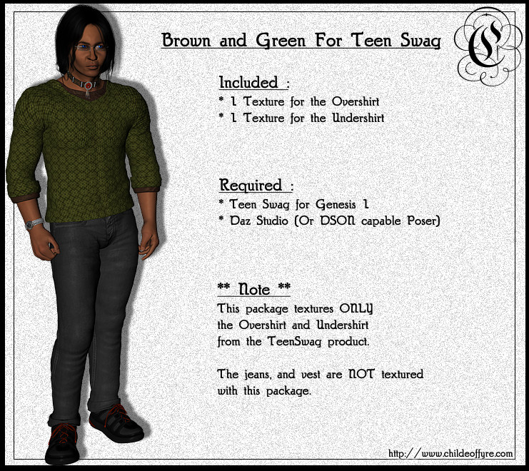 Brown and Green for Teen Swag