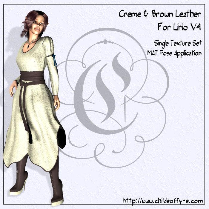 Creme Leather For Lirio V4