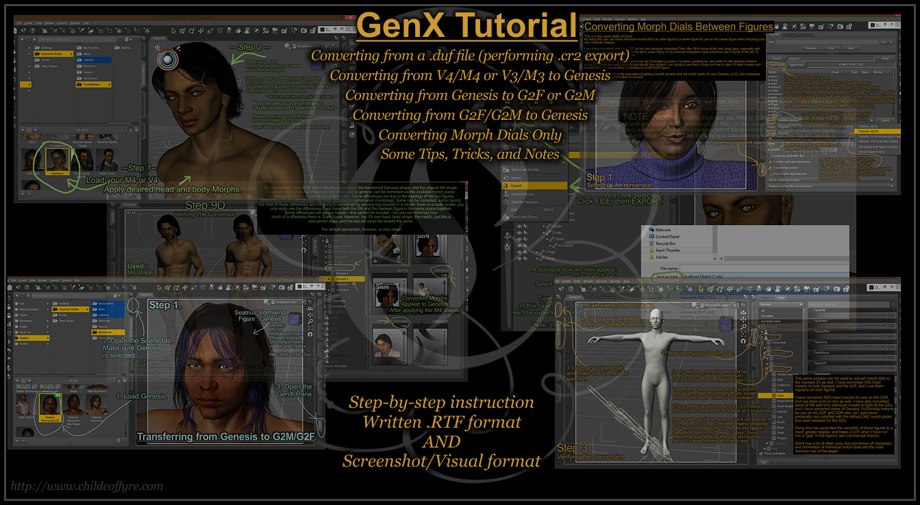 Tutorial : Using The GenX Plugin for DazStudio