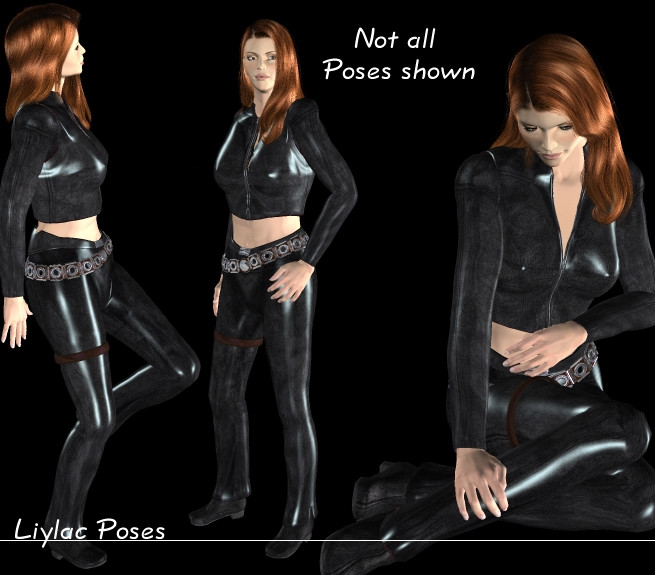 Liylac Poses Preview