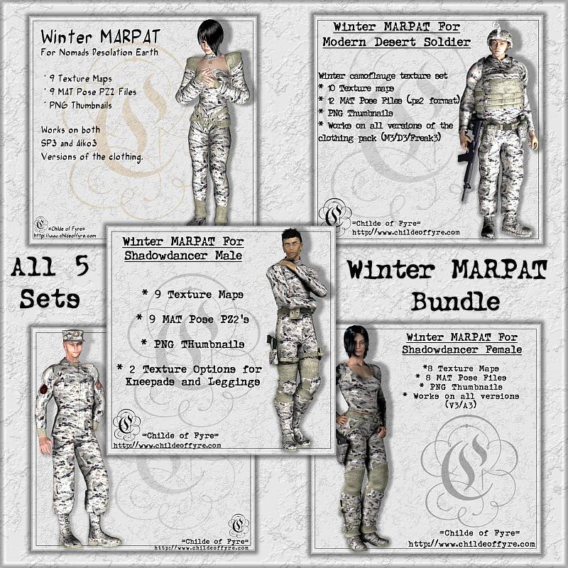 Winter MARPAT Camo Bundle