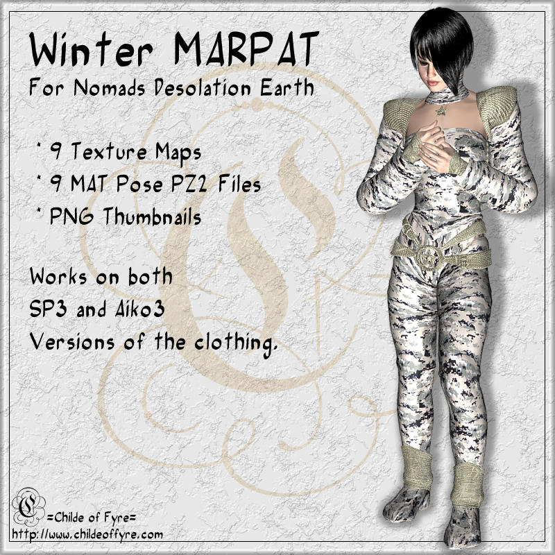 Winter MARPAT Camo for Desolation Earth Nomads