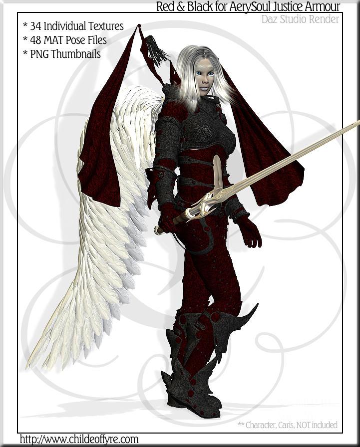 Red Black for AerySoul Justicel