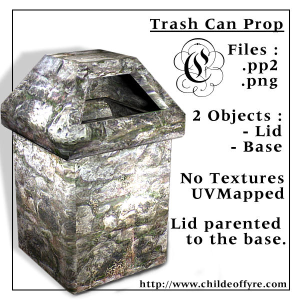 Trash Can Prop