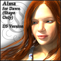 Alma for Dawn Daz Studio Version
