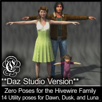 COF Zero Poses for the Hivewire Family (DS)