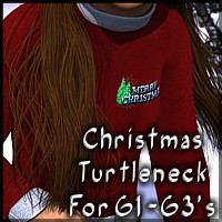 COF Genesis Christmas Turtleneck