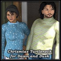 COF Christmas Turtleneck for Dawn and Dusk