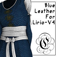 Blue Leather For Lirio V4