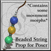 COF Beaded String for Poser