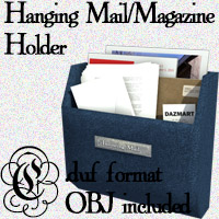 COF Hanging Letter Holder (DS)