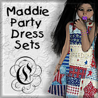 Maddie's Party Dress Sets