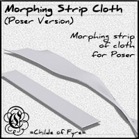 COF Morphing Strip Cloth (Poser)