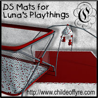 DS Mats for Luna's Playthings