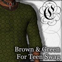 COF Brown and Green for Teen Swag