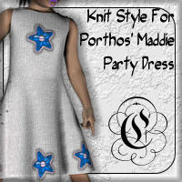 Knit Styles For Maddie's Party Dress
