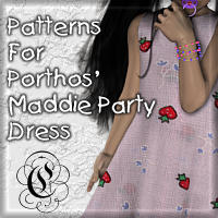 Patterns For Maddie's Party Dress