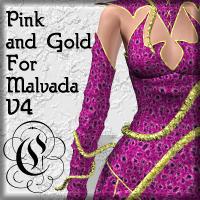 Pink-Gold For Malvada V4