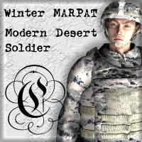 Winter MARPAT For Daz Modern Desert Soldier