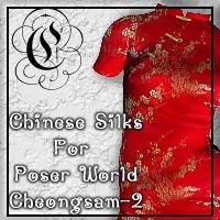 Chinese Silks for Poser World Cheongsam-2