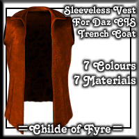 Sleeveless Vest for CIS Trenchcoat