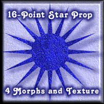 16 Point Star Prop